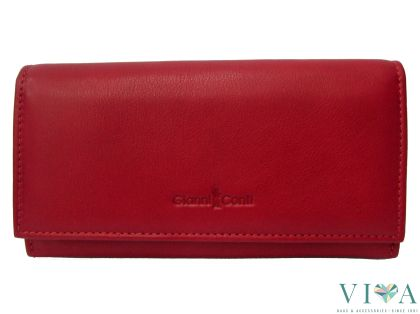 Women's Leather Wallet Gianni Conti  587003 red
