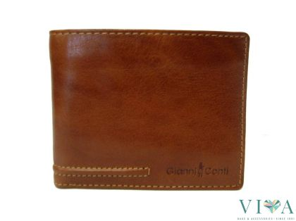 Men Wallet Gianni Conti 707410 cognac