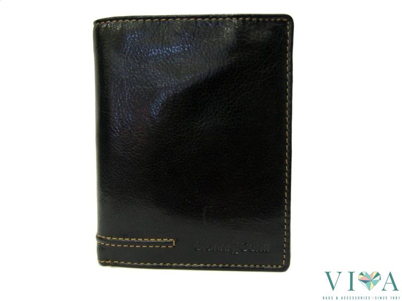 0f6a2f3744f Men's Leather Wallet Gianni Conti 707117 black, Vivabags