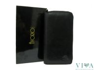 Women's Leather Wallet Avorio 8118 black