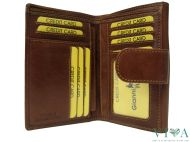 Women's Leather Wallet Gianni Conti  708161 tan