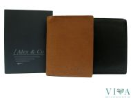 Men's Leather Wallet Alex&Co.  288037  tan