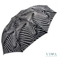 Woman's Automatic Umbrella Pierre Cardin 75138.3 black with white