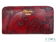Women's Leather Wallet Cuoieria Fiorentina101 red