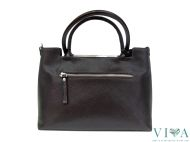 Womans Bag Gianni Conti  from Saffiano leather 1463601 dark brown