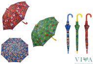 Children's Long Umbrella Kukuxumusu  66156 red