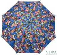 Children's Long Umbrella Kukuxumusu  66156 blue