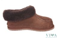 Mens Slippers 675  Brown