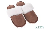 Women Slippers 150 brown