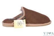 Mens Slippers 156 Brown