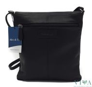 Men's leather bag 2502557 black