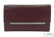 Women's Leather Wallet Gianni Conti from Saffiano leather 498245 red