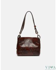 Calf Hammered Bag Cuoieria Fiorentina  1651 black