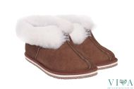 Women Slippers 650 brown